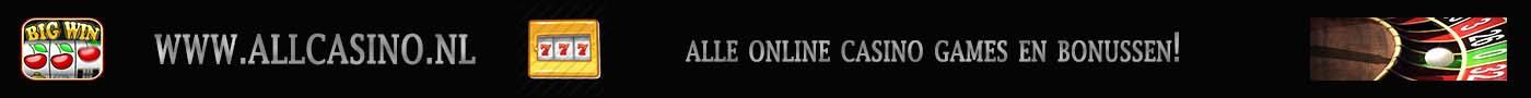 Alle online casino games en bonussen!